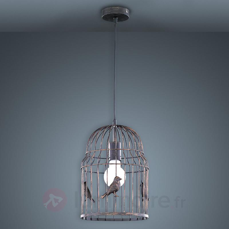 Suspension Hansi, en forme de cage à oiseaux - Toutes les suspensions