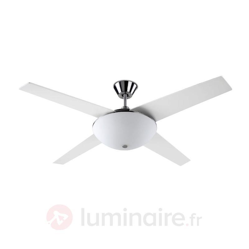 Ventilateur de plafond AUKENA avec éclairage - Ventilateurs de plafond modernes