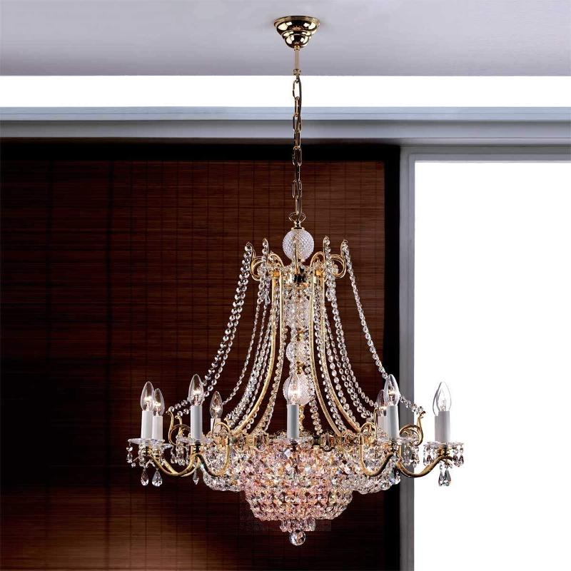 Nagoja Chandelier Magnificent Gold-Plated - Chandeliers