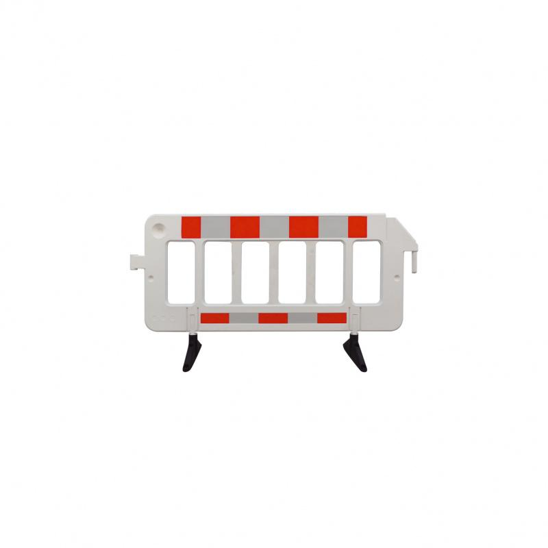 crowd barrier made of plastic - crowd barrier made of plastic without film or with film RA 1