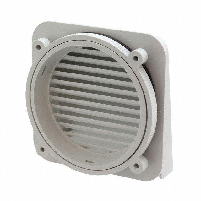 IPV EXT VENT W/WIDE OPENING - Bud Industries IPV-1116