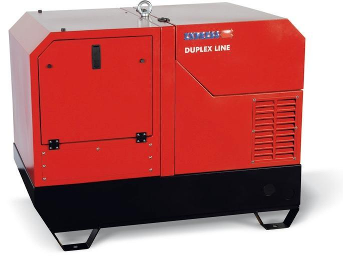 POWER GENERATOR for Professional users - ESE 1408 DHG ES DI DUPLEX