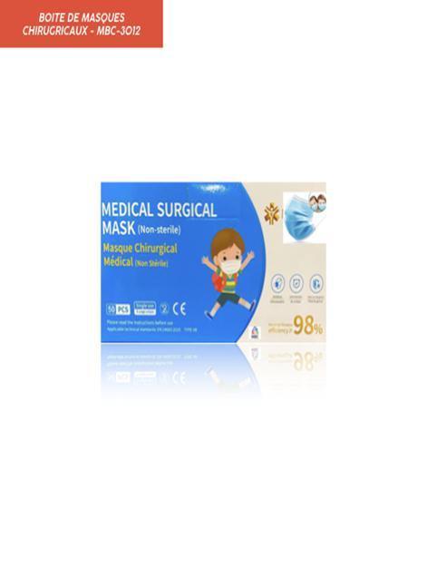 Boite de Masque Chirurgicaux - Produits Médicaux