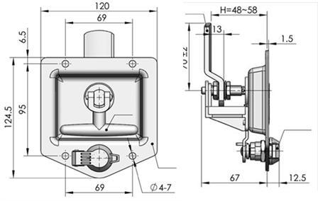 Vehicular Latch Locking -