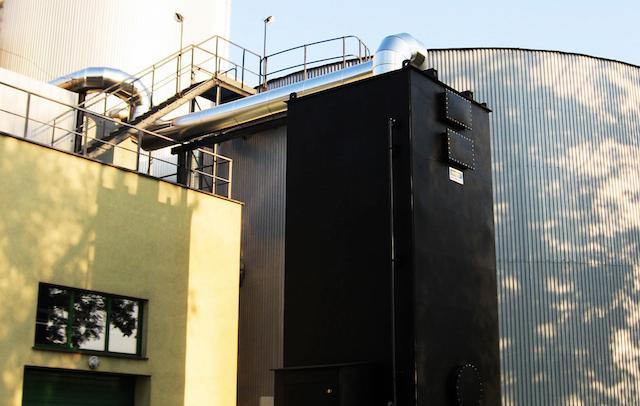 Biotrickling filter - Space-saving biological odour treatment