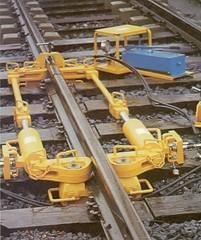 Rail Welding Equipment - Hydraulic Rail Tighteners