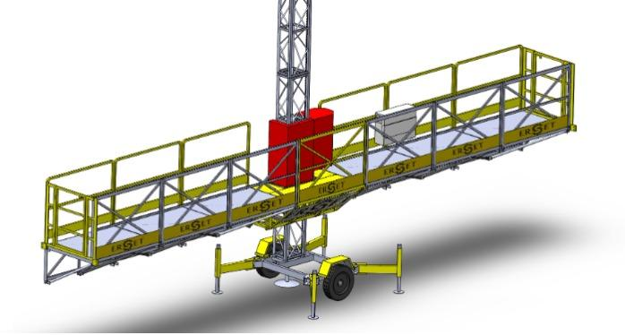 ERP1050 Platform İskele - ERP1050 Platofrm İskele