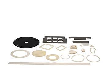Guarnizioni e particolari piani ricavati da taglio meccanico - Prodotti