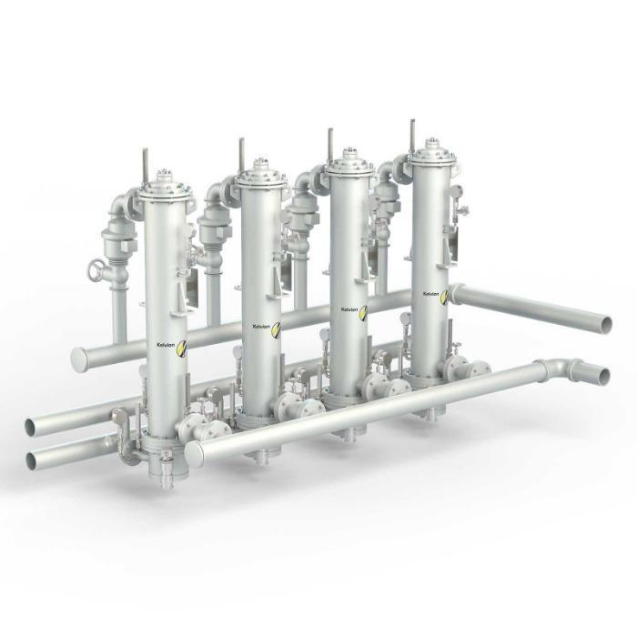 Waterkoelers voor transformatorolie - In verschillende opstellingsvarianten