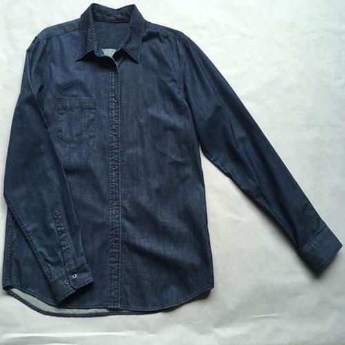 قميص الجينز عارضة للرجال -