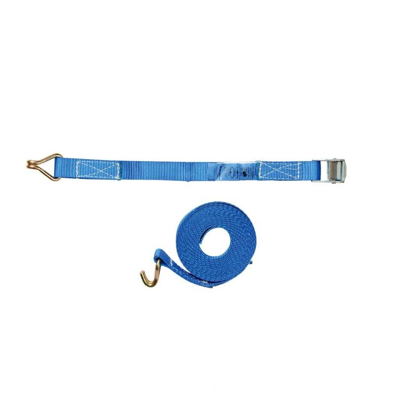 Lashing strap - Lashing strap one-piece, with clamping lock or with ratchet