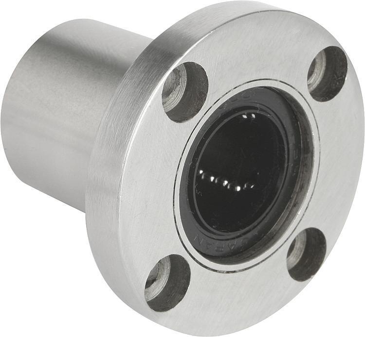 Systeme und Komponenten für den Maschinen und Anlagenbau - Linearkugellager mit Flansch