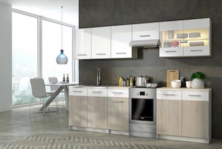 2.5m kitchen set
