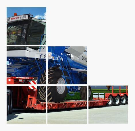 Перевозка негабаритных грузов -