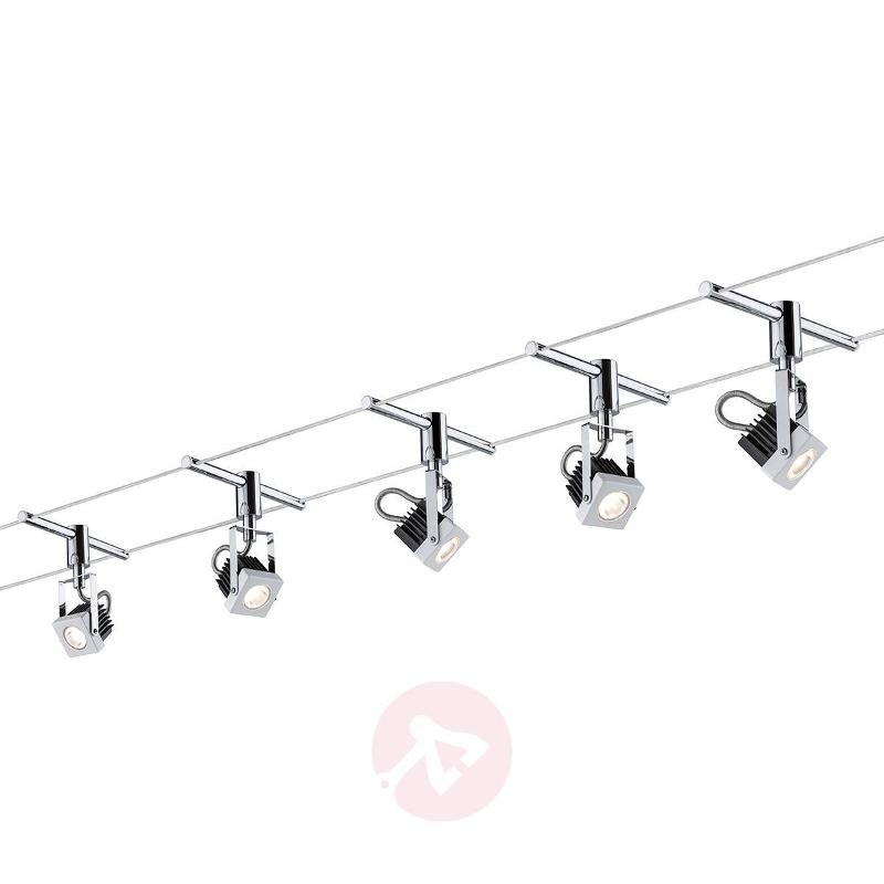 cable lighting kits. Mezzo - Fully LED Cable System 5-bulb Lighting Kits A
