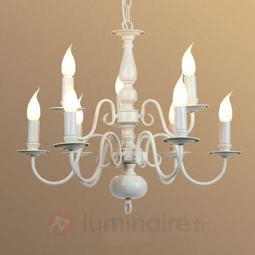 Lustre rustique MAYRA à 9 lampes - Lustres rustiques