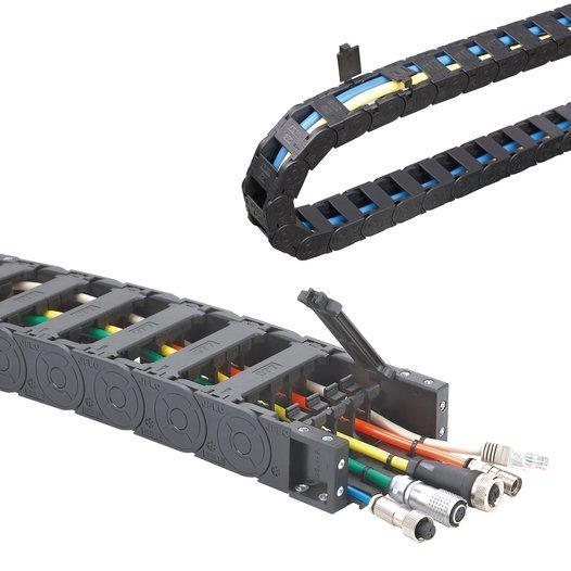 Energieführungsketten - Innenhöhe 18QW,18mm