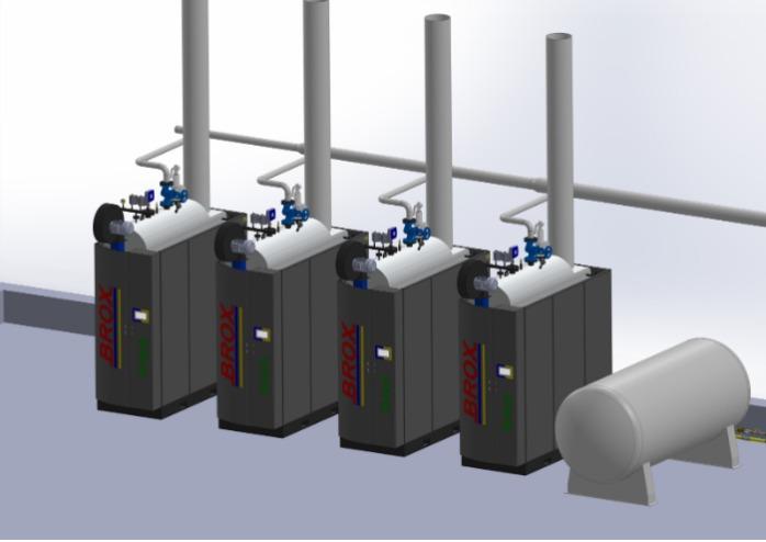 Steam Generator  - Fuel saving Efficient Modular Steam Generator