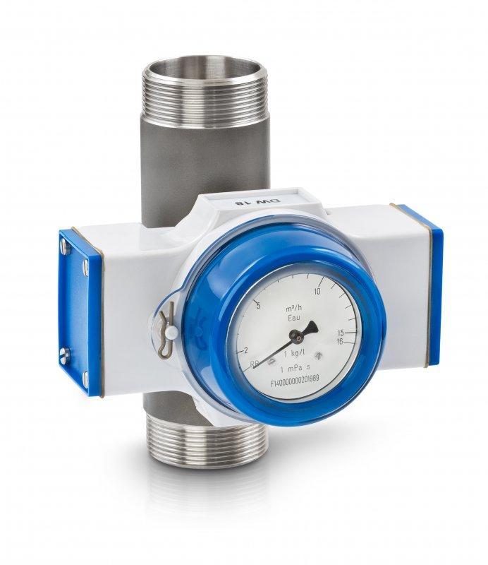 DW 181 - Controlador de caudal mecánico / para líquido / max. 40 bar / max. 300 °C