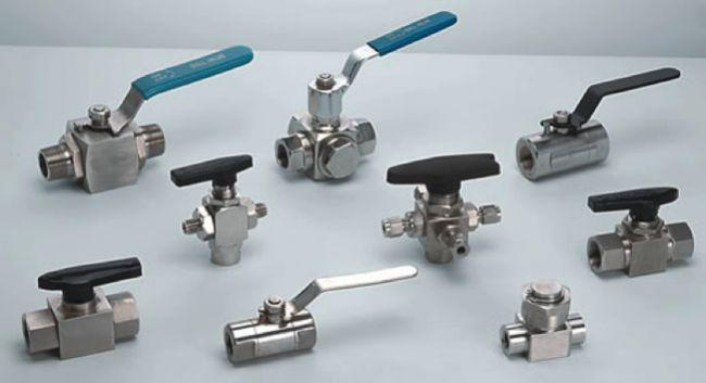 Nickel Ball Valves