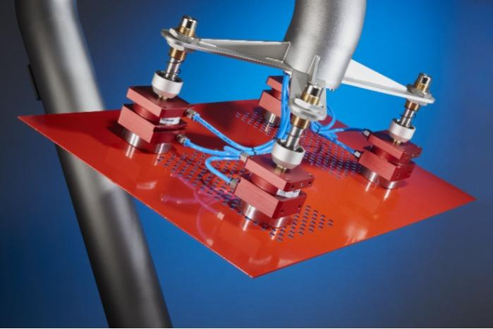 Magnetic metal handling  - Magnetic metal handling for robots and automated processes