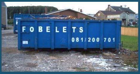 Location containers pour déchets