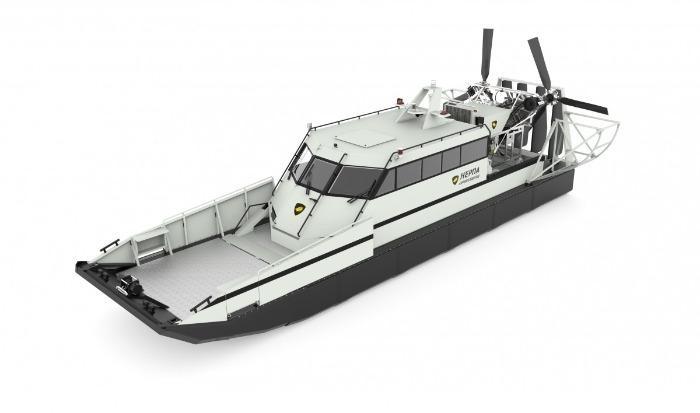 Speedboats - Airboat «Nerpa 1010»