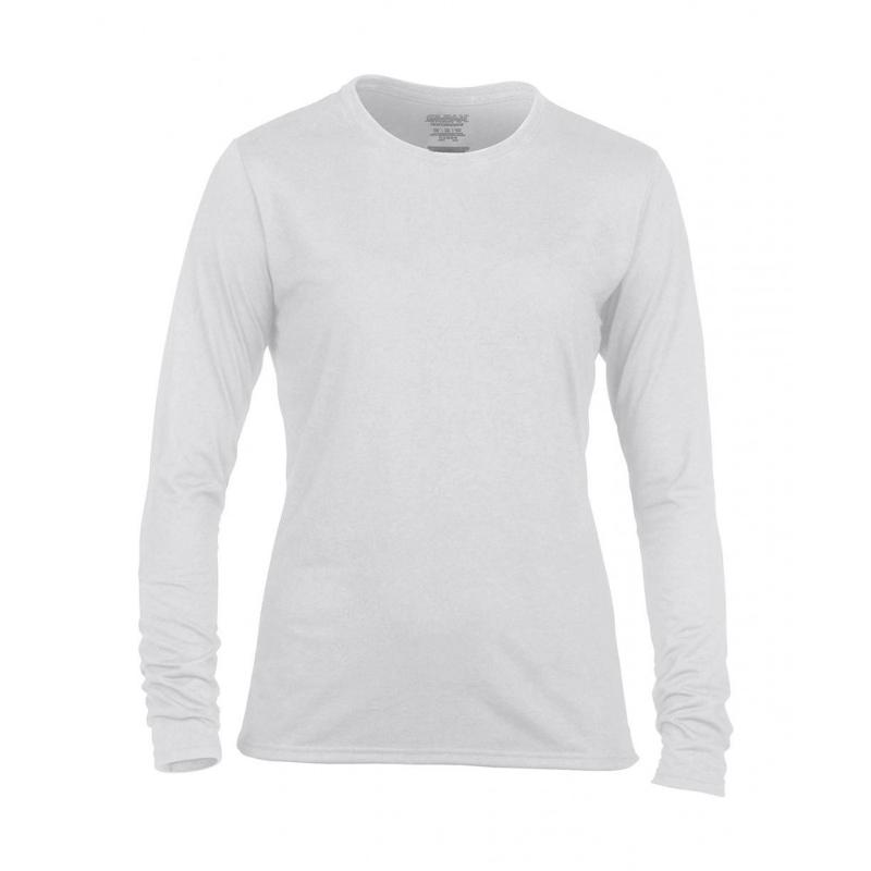 Tee-shirt femme Gildan S-L - Hauts manches longues