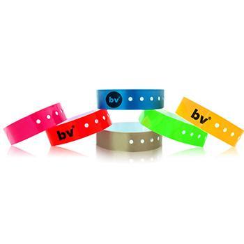 Bracelet Vinyle avec marquage noir