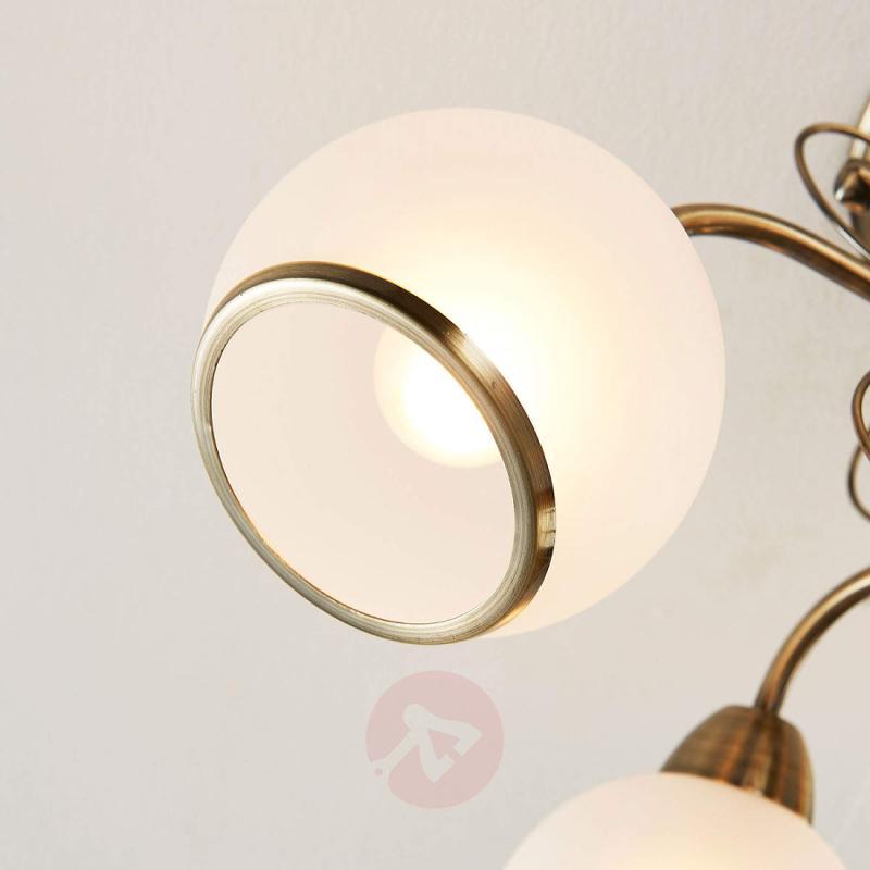 Fantastic ceiling light Corentin, antique brass - indoor-lighting