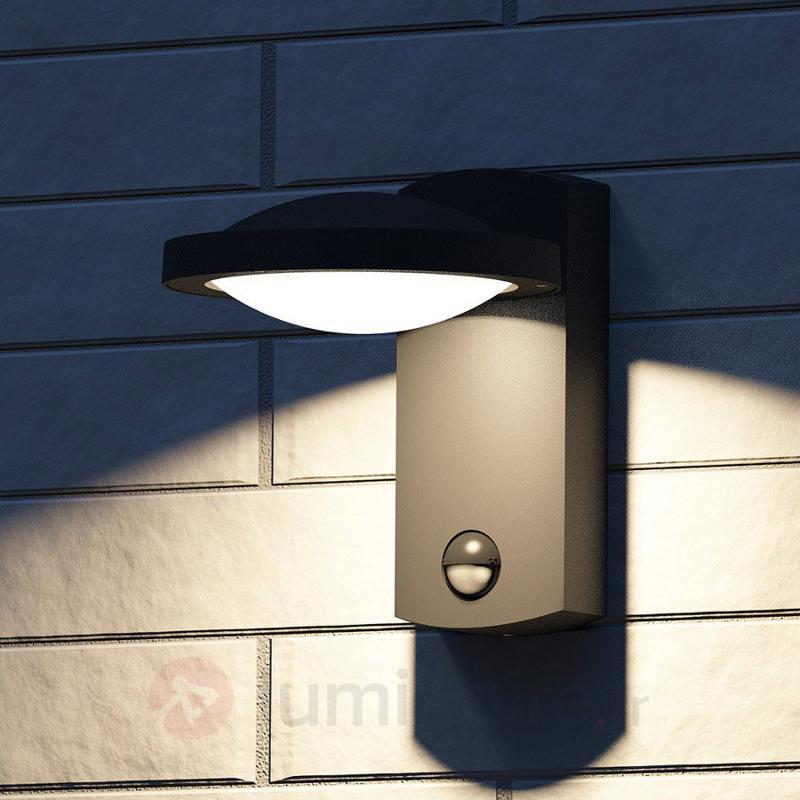 Applique LED HUGO à détecteur de mouvement - Appliques d'extérieur LED