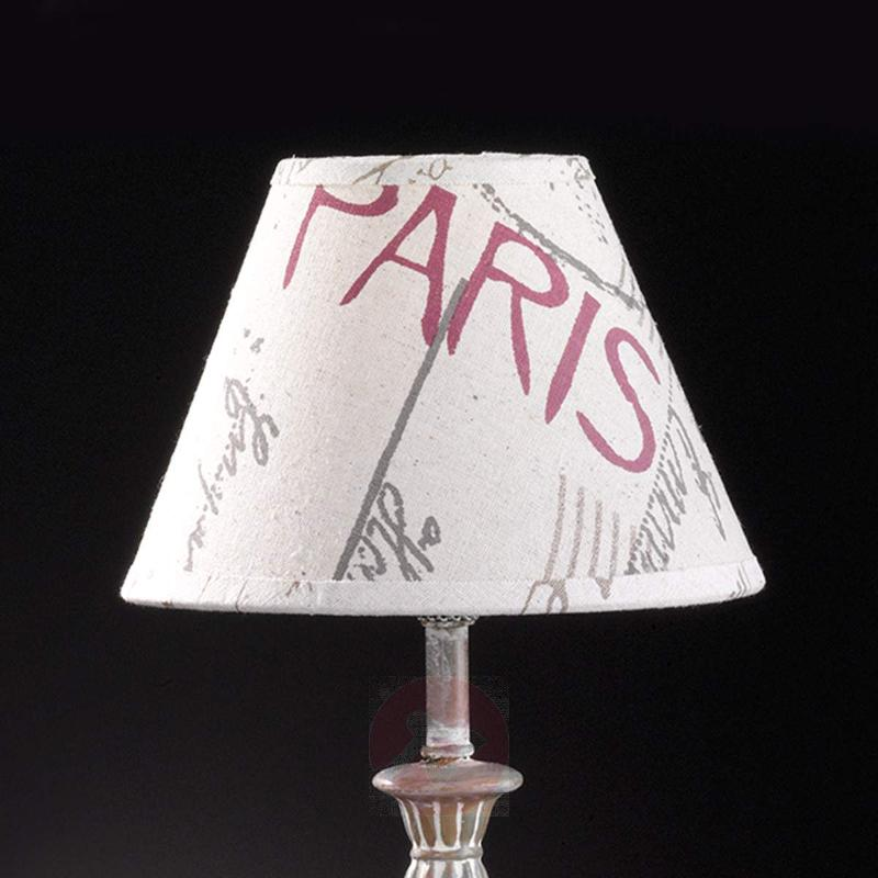 With a Paris design - fabric table lamp City - Window Sill Lights