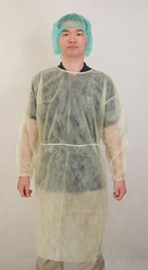 Vêtements de protection  Robe d'isolement