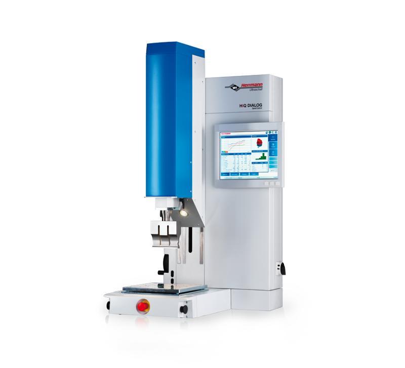 Ultrasonic plastic welding machines - HiQ DIALOG SpeedControl