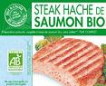 Hachés de saumon - Biologiques et surgelés