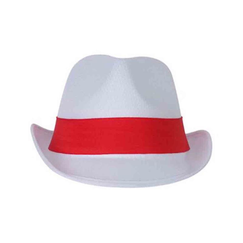Chapeau événementiel blanc/blanc - Chapeaux