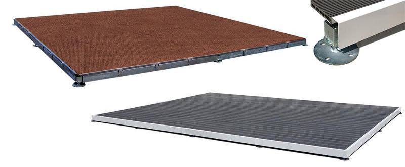 Plancher bois réglable - Accessoires Pagodes MaxLéger et MaxLourd