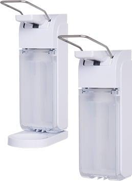 Universal Arm Lever Dispenser, white - null