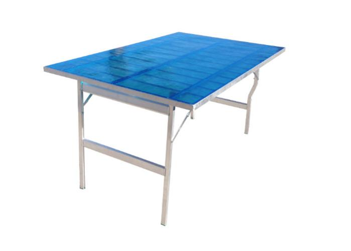 Table aluminium PRICE65 - Table en aluminium PRCE65 avec résine