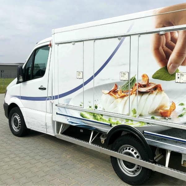 Custom-built solutions - Lightweight refrigerated trucks for frozen, chilled or multi-temp food.