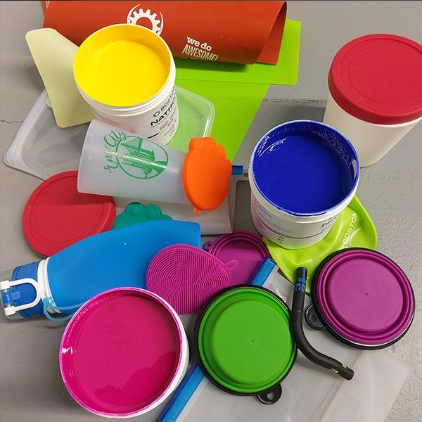 Natron™ SE Series Silicone inks - high opacity silicone inks