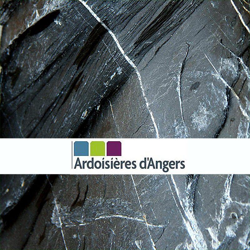 Pavés, Dalles... - Palissades Ardoise d'Angers en palette 1 tonne