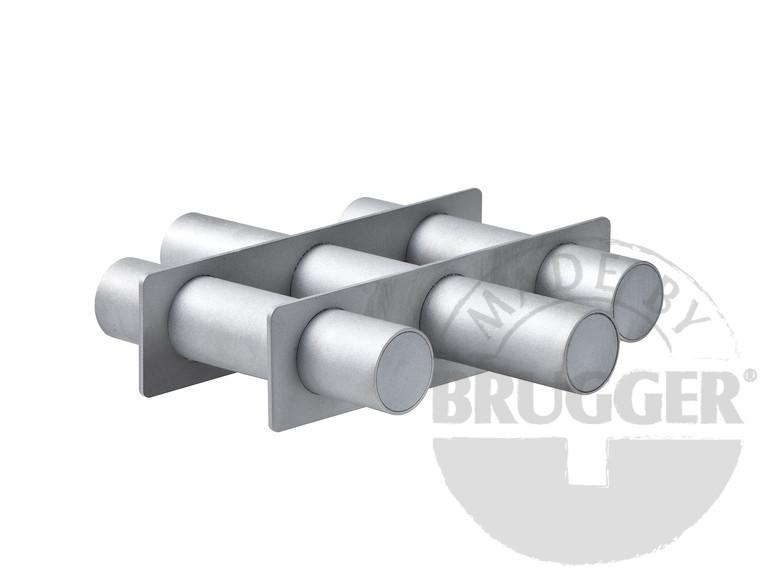 Magnet filter made of NdFeB, round, welded, stainless... - null