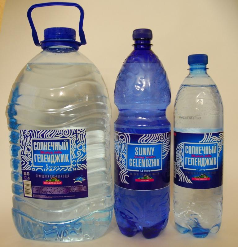 Минеральная вода - Натуральная минеральная вода