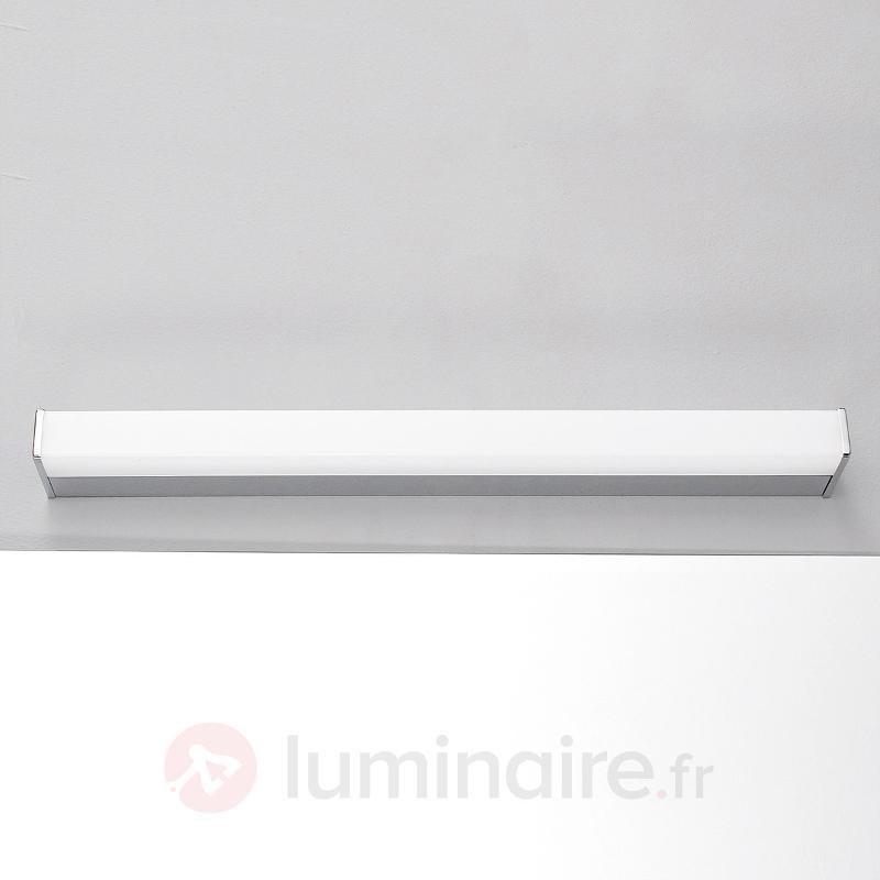 Applique pour miroir Philippa chrome brillant - Appliques LED