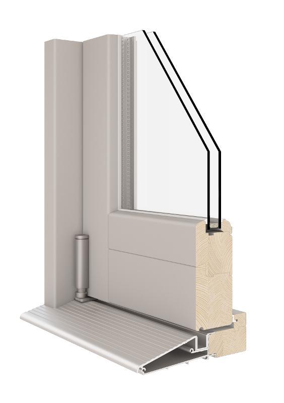 Bi-Folding Door (Wooden 68|78|92) - FS Bifolds Wooden Door