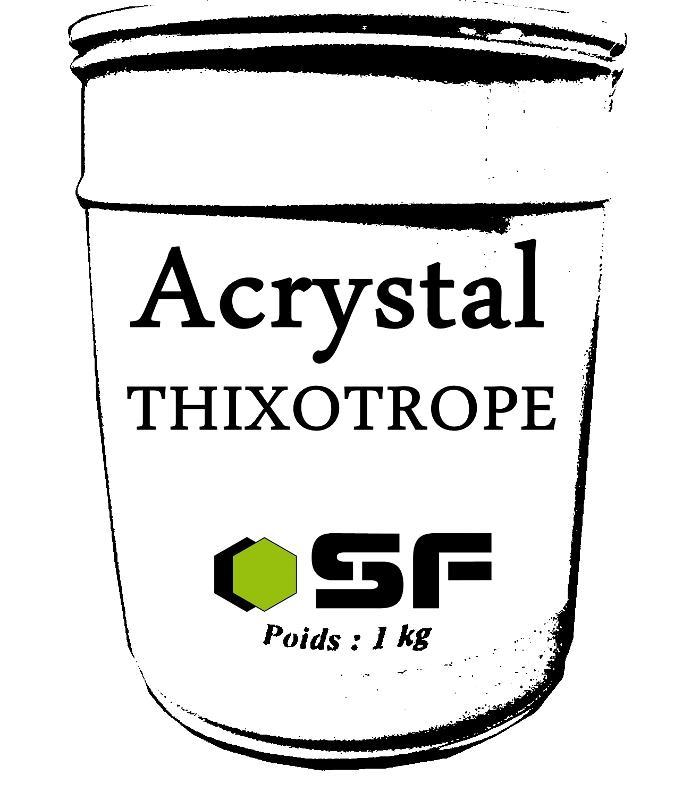 Résines acrystal Colorants, agents et fibres - AGENT THIXOTROPE...........1KG
