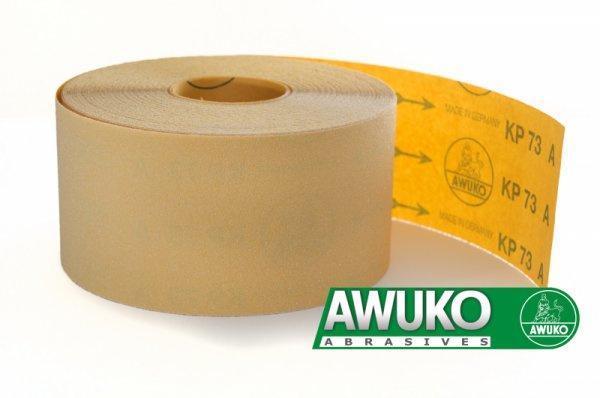 Schleifrollen für Holz / Fußboden, Lack / Farbe KP73A - Körnungen: P60 - P1000