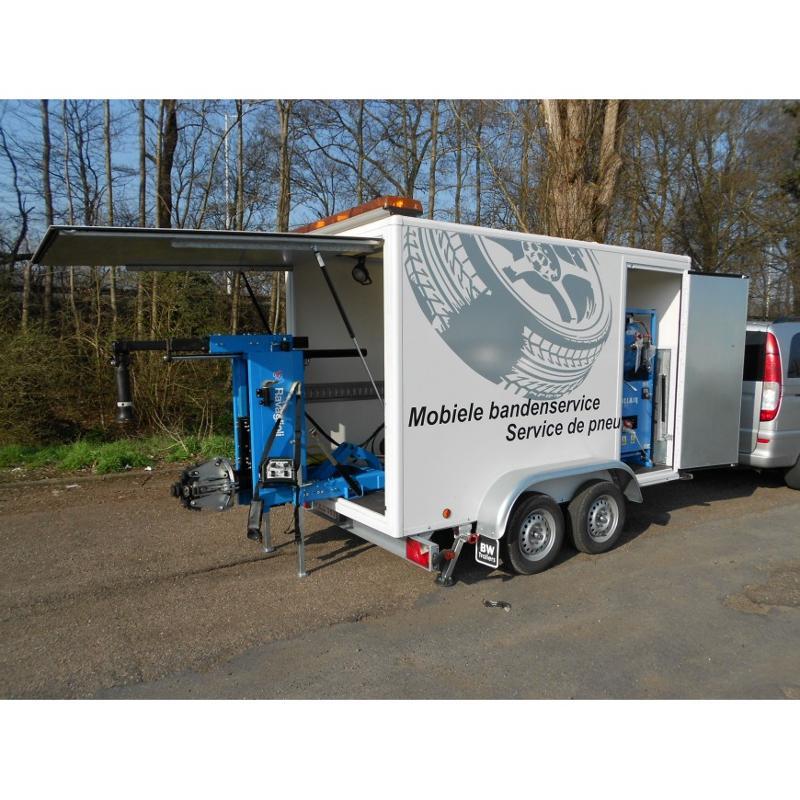 Remorque belgique entreprises for Garage pneu paris