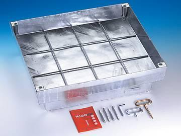 BVHS 250/BVHS 400 steel galvanised BVEHS 250/BVEHS 400... - Heavy duty covers for infill with paviors sealed